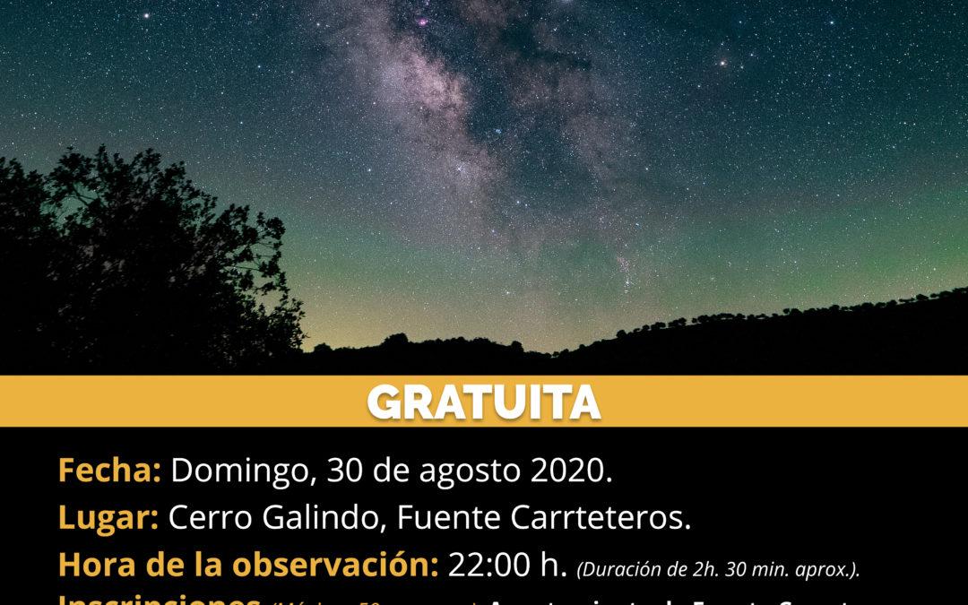 OBSERVACIÓN ASTRONÓMICA EN CERRO GALINDO