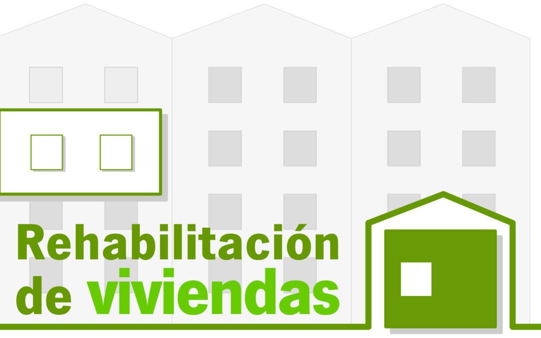 SUBVENCIONES PARA LA REHABILITACIÓN DE VIVIENDAS