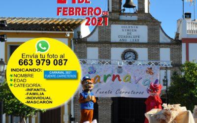BASES CONCURSO DE DISFRACES DEL CARNAVAL FUENTE CARRETEROS 2021